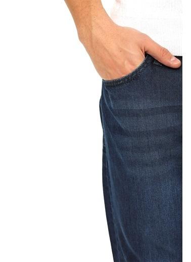 Modaplaza Erkek Kot Pantolon Koyu Mavi Mavi